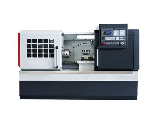 CK6166 flate bed CNC lathe machine