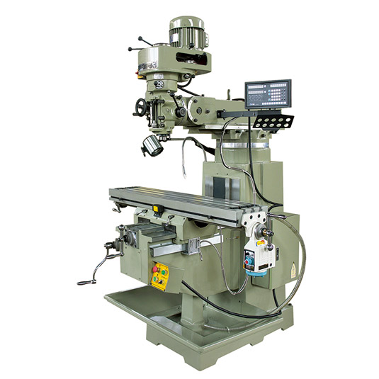 4HW turret milling machine