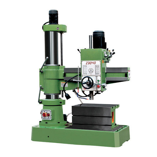 Z3040 radial drilling machine